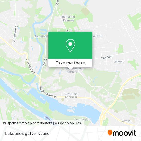 Lukštinės gatvė map