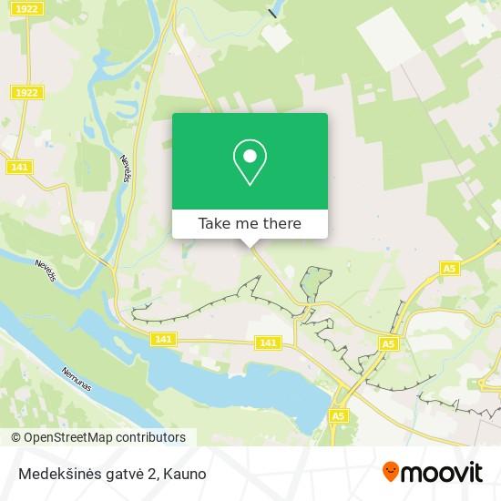 Medekšinės gatvė 2 map