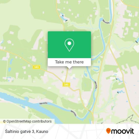 Šaltinio gatvė 3 map
