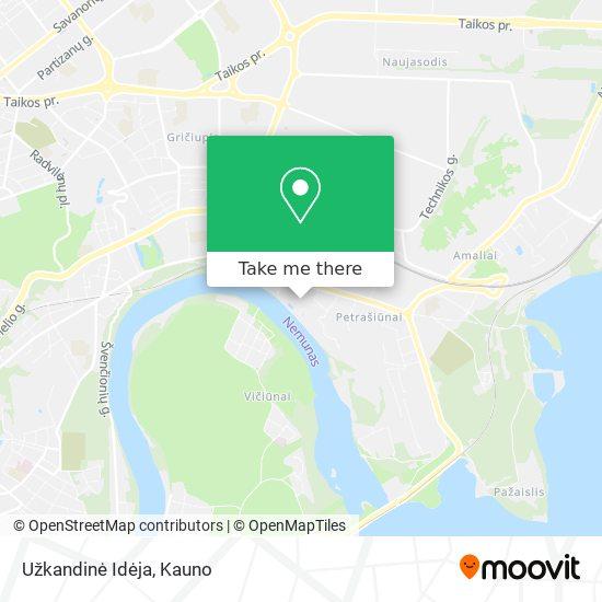 Užkandinė Idėja map
