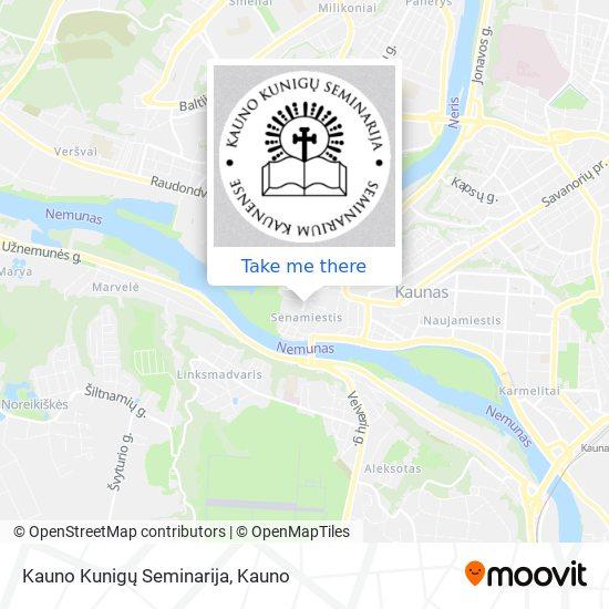 Kauno Kunigų Seminarija map
