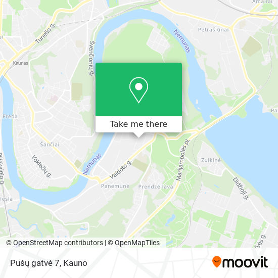 Pušų gatvė 7 map