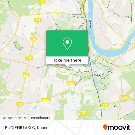 BUGIENIU AKLG map