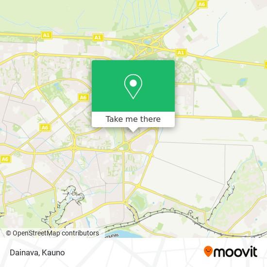 Dainava map
