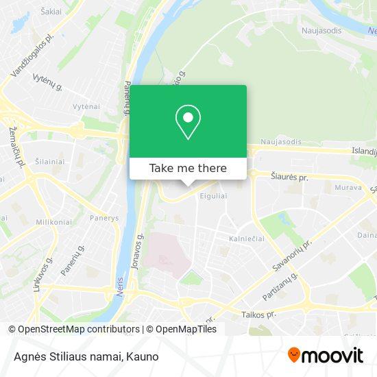 Agnės Stiliaus namai map