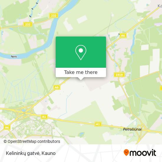 Kelininkų gatvė map
