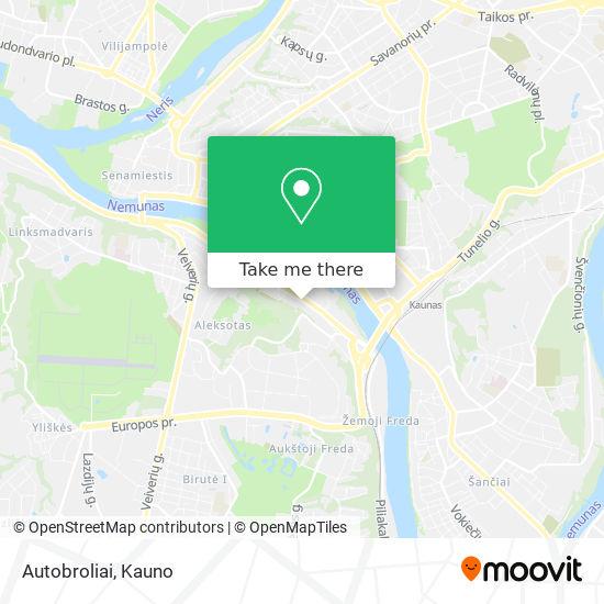 Autobroliai map