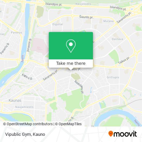 Vipublic Gym map