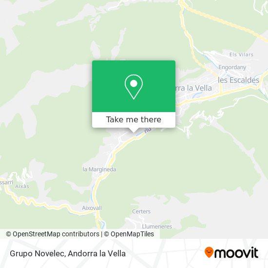 Grupo Novelec map