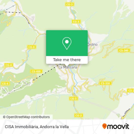 CISA Immobiliària map