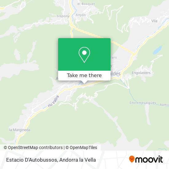 Estacio D'Autobussos map