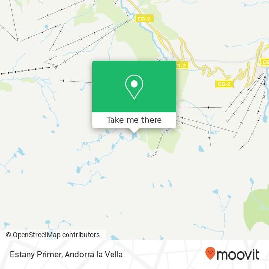 Estany Primer map