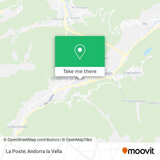 Andorre-La-Vieille map