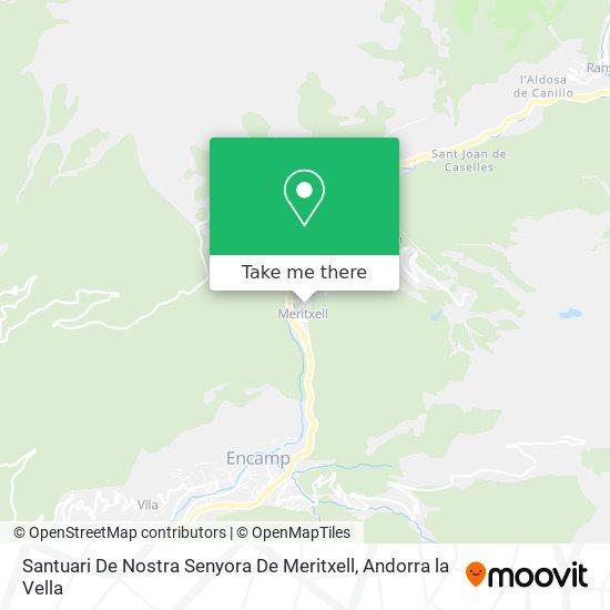 Santuari De Nostra Senyora De Maritxell map