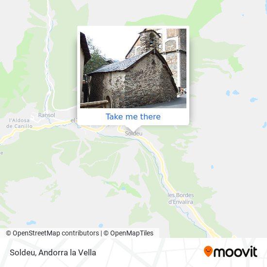 Soldeu map