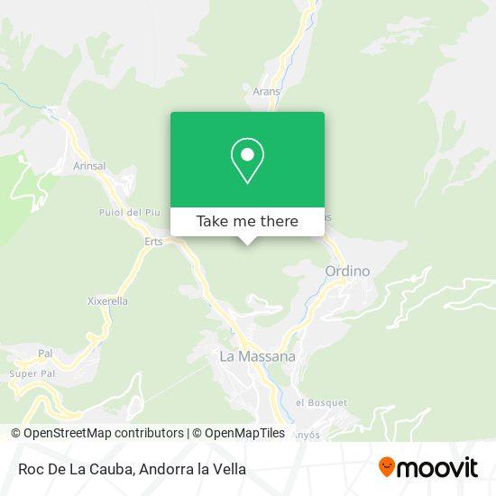 Roc De La Cauba map