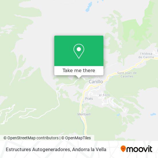 Estructures Autogeneradores map