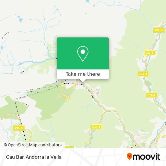 Cau Bar map