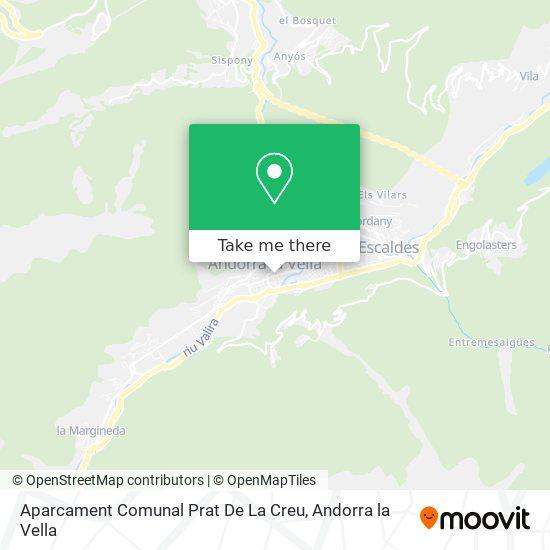 Aparcament Comunal Prat De La Creu map
