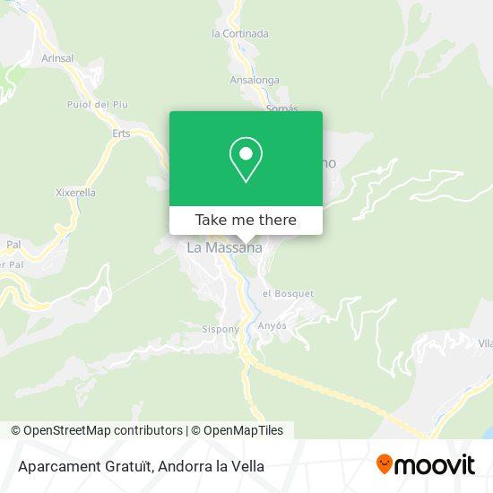 Free Parking map