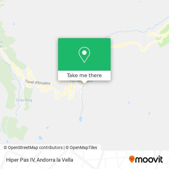 Hiper Pas map