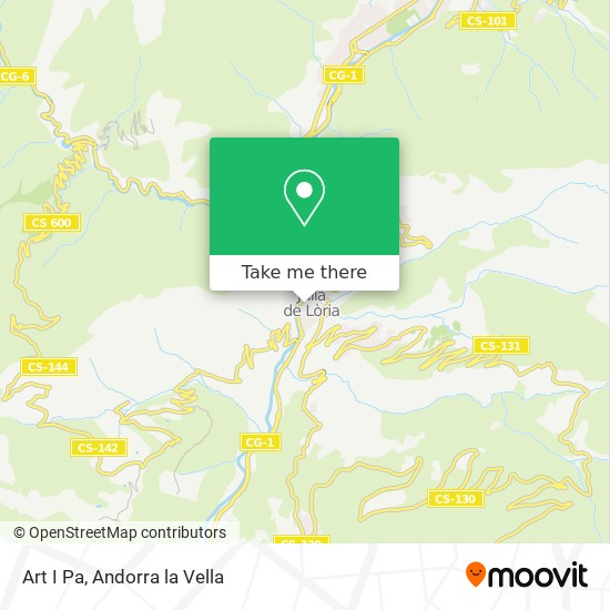 Art I Pa map