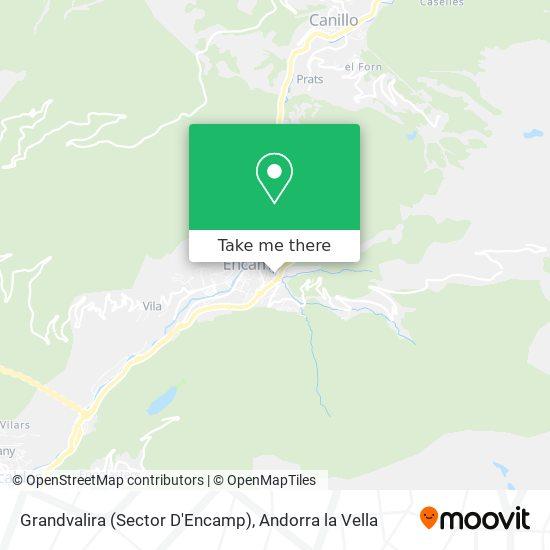 Grandvalira (Sector D'Encamp) map