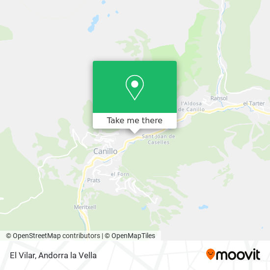 El Vilar map