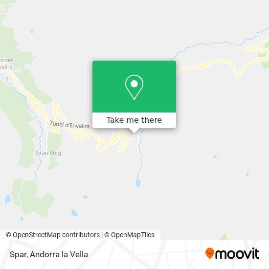 Spar map