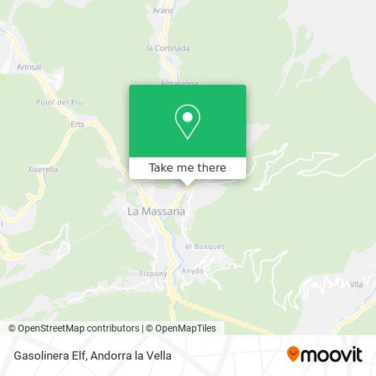 Gasolinera Elf map