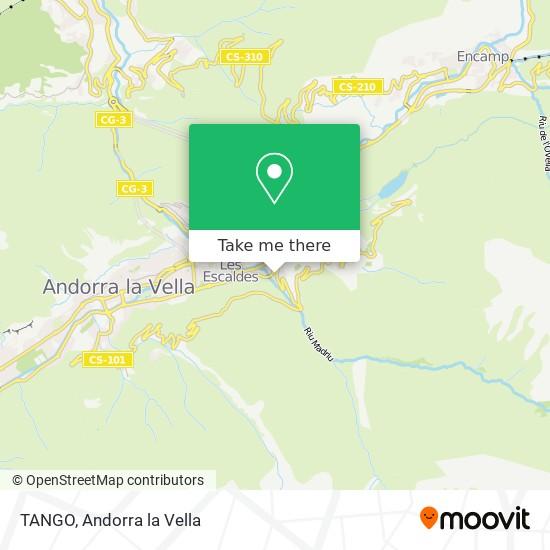 TANGO map