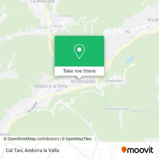 Cal Tavi map