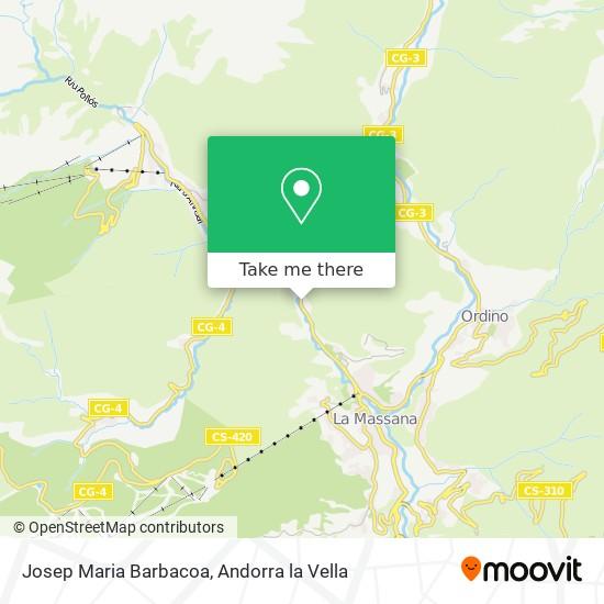 Josep Maria Barbacoa map