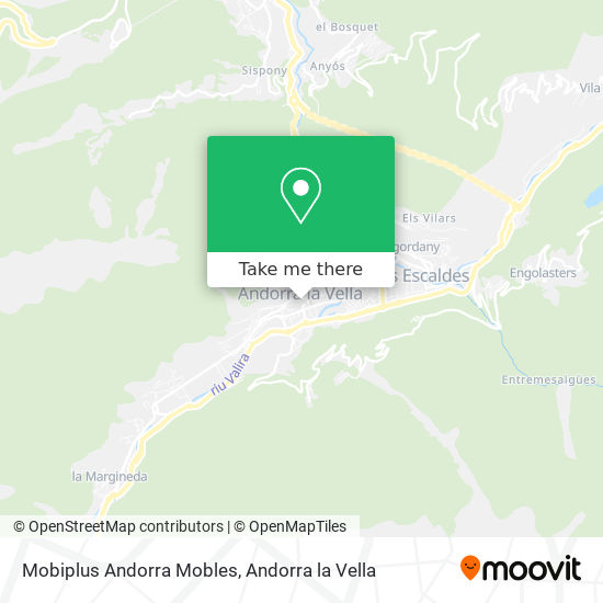 Mobiplus Andorra Mobles map