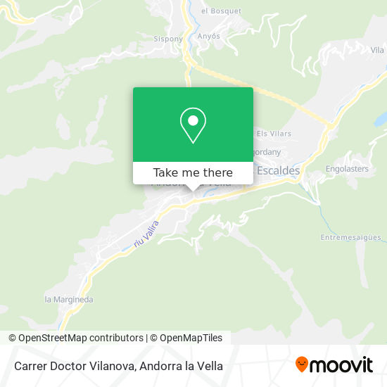 Carrer Doctor Vilanova map