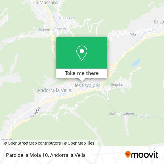 Parc de la Mola 10 map