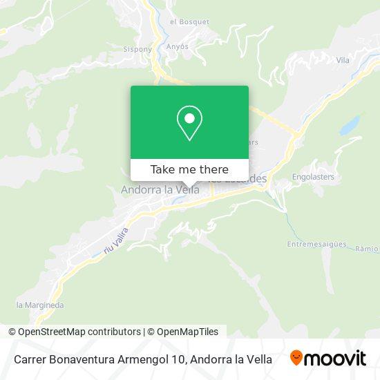 Carrer Bonaventura Armengol 10 map