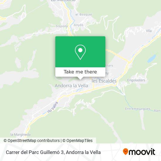 Carrer del Parc Guillemó 3 map