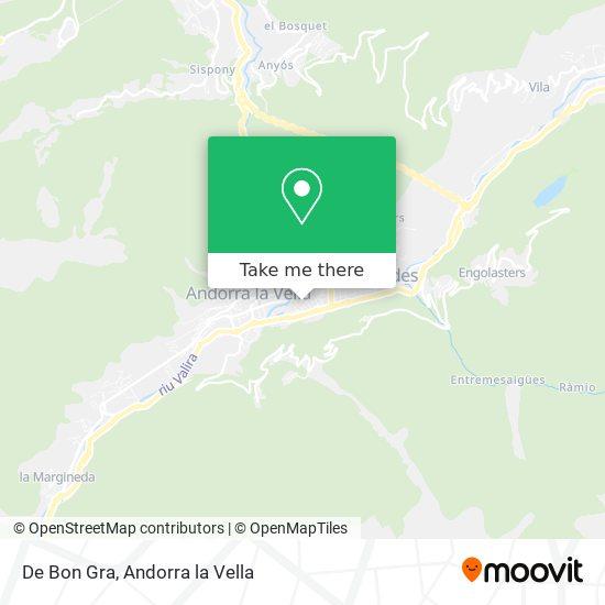 De Bon Gra map