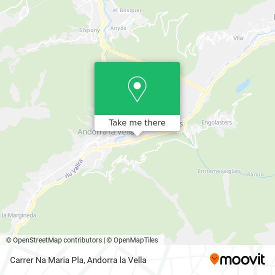 Carrer Na Maria Pla map