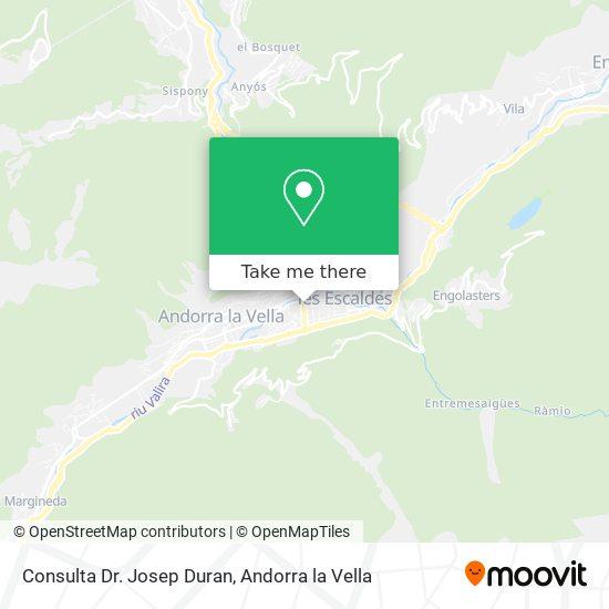 Consulta Dr. Josep Duran map
