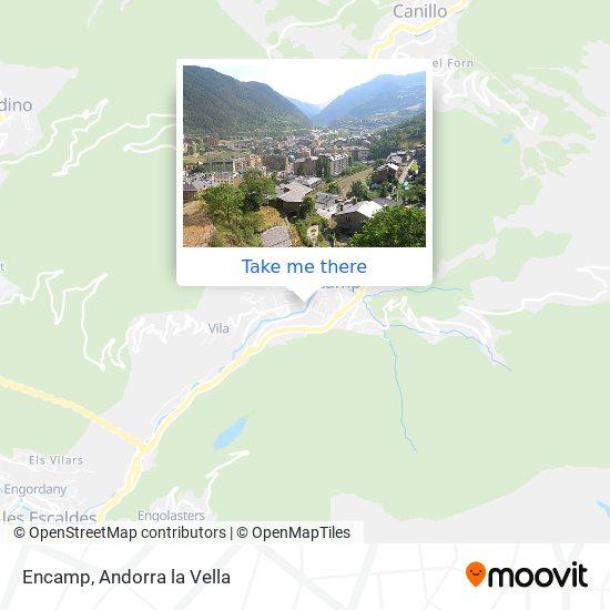 Encamp map