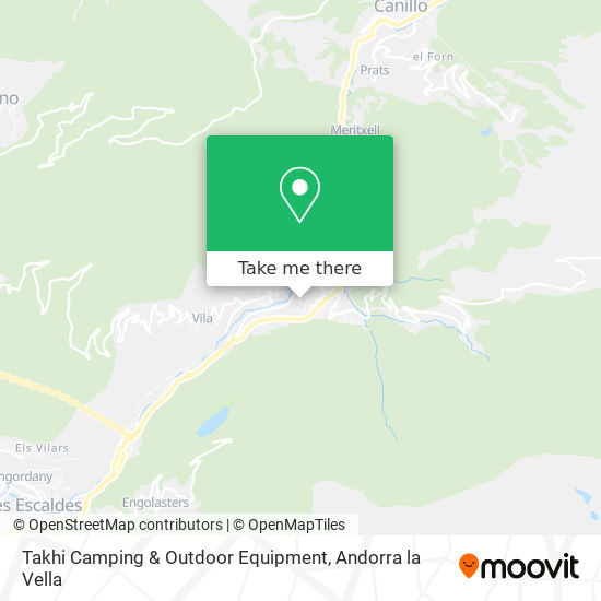 Takhi Camping & Outdoor Equipment map