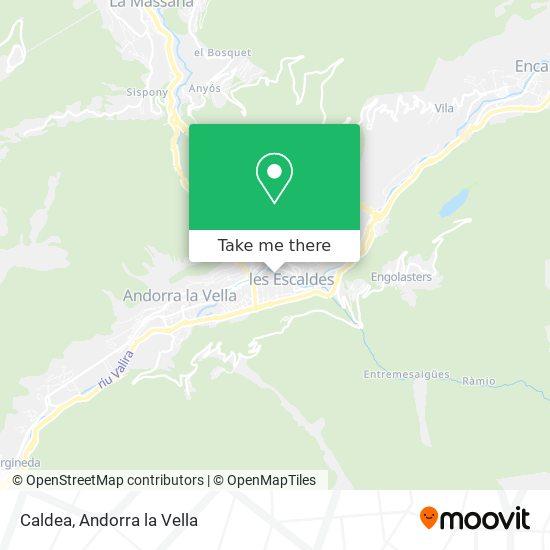 Caldea map