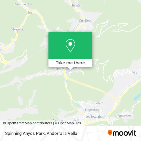 Spinning Anyos Park map