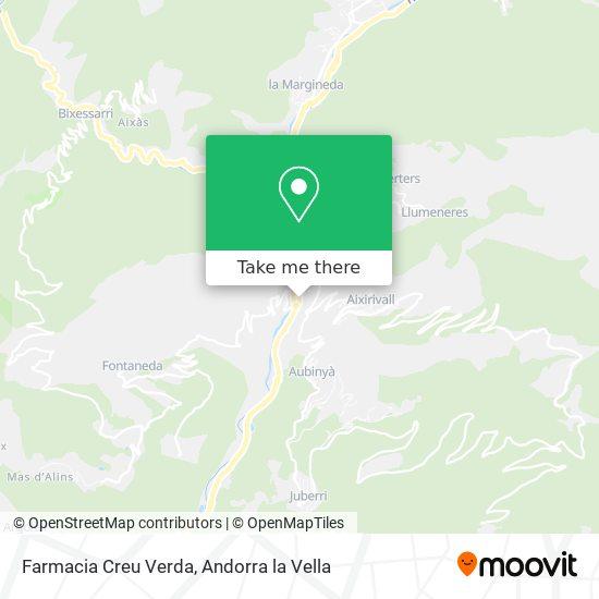 Farmacia Creu Verda map