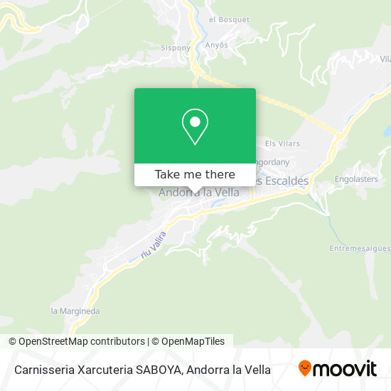 Carnisseria Xarcuteria SABOYA map