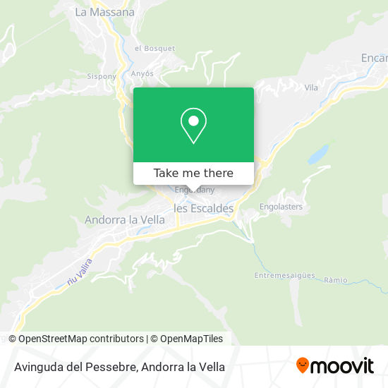 Avinguda del Pessebre map