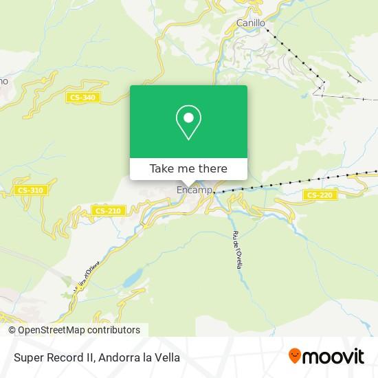 Super Record II map