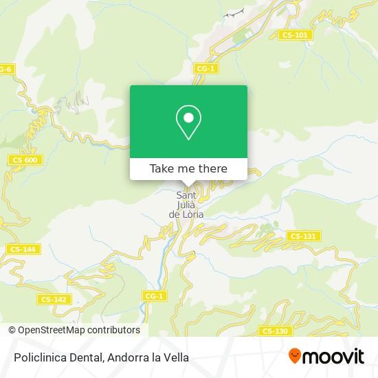 Policlinica Dental map